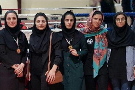 راهیابی بانوان رزمی کار گیلانی به مسابقات جهانی کیک بوکسینگ