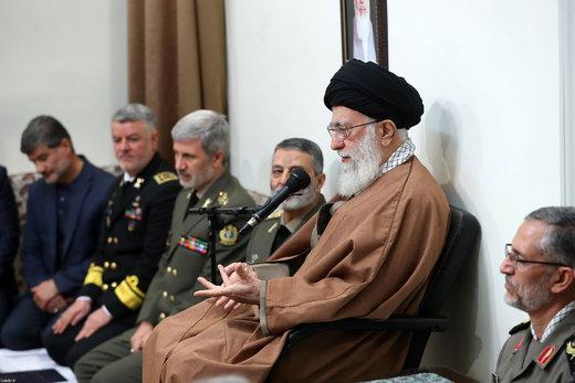 هر چه میتوانید تواناییها و آمادگیهای خود را افزایش دهید/ جمهوری اسلامی قصد آغاز جنگ با کسی را ندارد