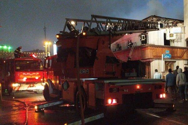 آتشسوزی شدید در سبزهمیدان رشت یک کشته و ۳ مصدوم بر جای گذاشت
