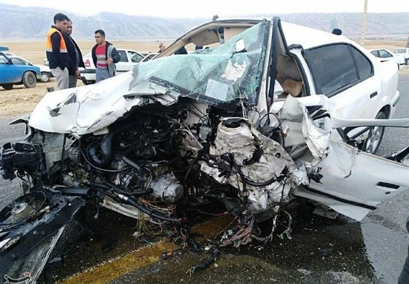 تصادف مرگبار در لوشان