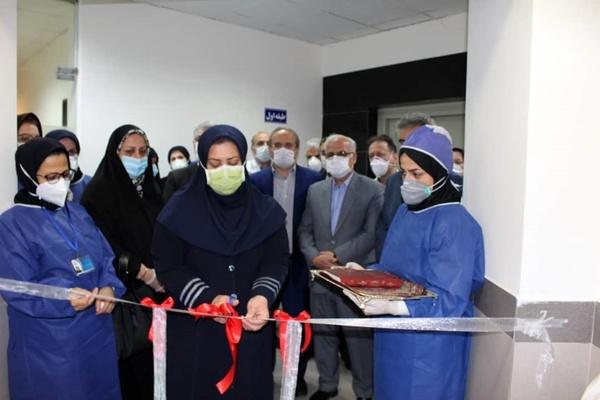 افتتاح بزرگترین مرکز ICU دولتی شمال کشور در رشت توسط کادر درمانی رازی رشت