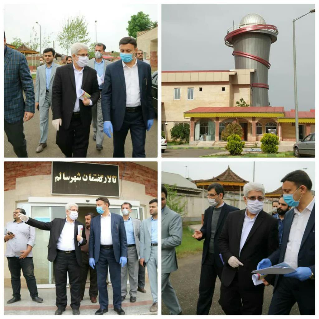 پیگیری تکمیل رصدخانه کوشیار گیلانی توسط شهرداری رشت