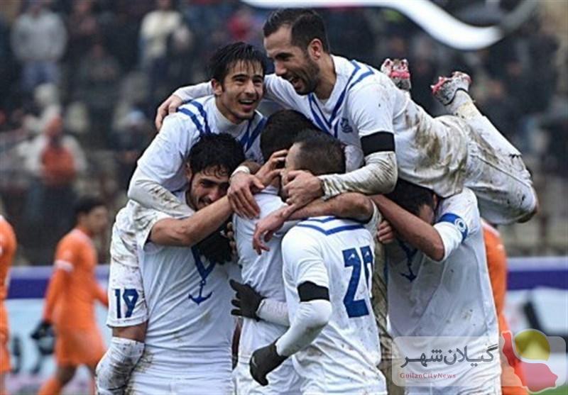لیگ دسته یک فوتبال باشگاههای ایران  «ملوان بندرانزلی» در مقابل «استقلال خوزستان» بهبرتری دست یافت