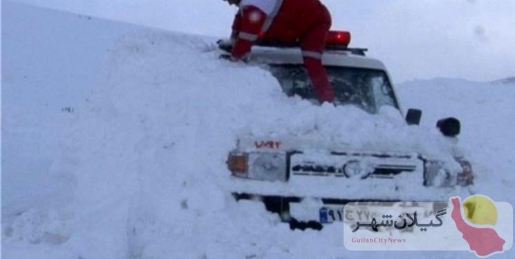 احتمال وقوع بهمن در ارتفاعات گیلان/کوهنوردان هوشیار باشند
