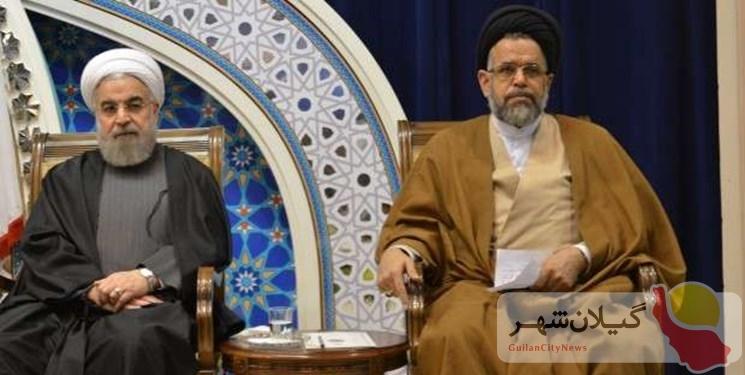 تذکر روحانی به وزیر اطلاعات / واعظی: فتوای رهبری پیرامون پیرامون سلاح هستهای به قوت خود باقی است
