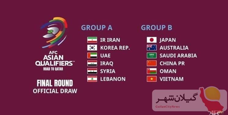 ایران دوباره با کره جنوبی همگروه شد؛ قرعه «آسانتر» برای یاران اسکوچیچ/ ژاپن، استرالیا و عربستان در گروه مرگ
