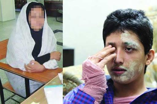 اسیدپاشی در یکی از خیابانهای رشت   انتقام عجیب خانوم ۵۲ ساله از همسرش!
