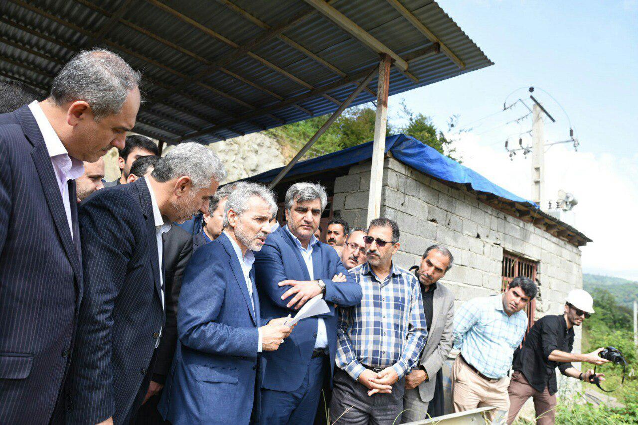 معاون رئیس جمهور و رئیس سازمان برنامه و بودجه از روند اجرایی سد مخزنی پلرود در شهرستان رودسر بازدید کرد.