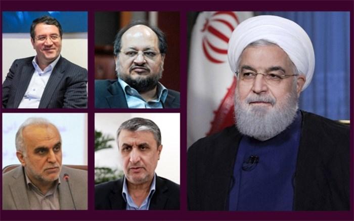 دژپسند، شریعتمداری، اسلامی و رحمانی وزیر شدند+ آرا