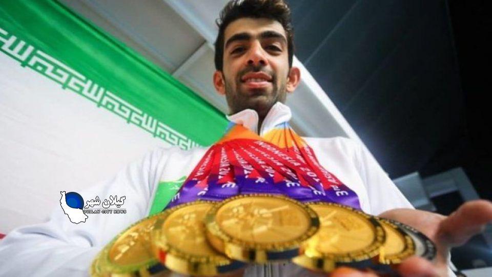 ایران در بازیهای پاراآسیایی سوم شد + جدول