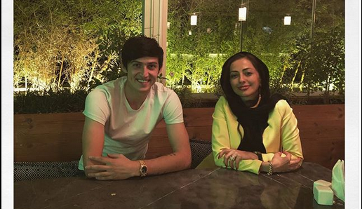 نفیسه روشن: من و سردار آزمون تنهایی بیرون نرفتیم+ عکس