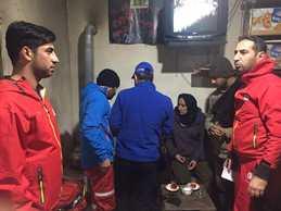 نجات ۵ کوهنورد گمشده در کوهستان آبشار لاتون