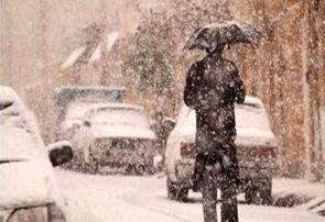 بارش برف بهاری در گیلان