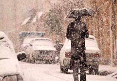 این ۶ استان منتظر بارش برف و باران باشند