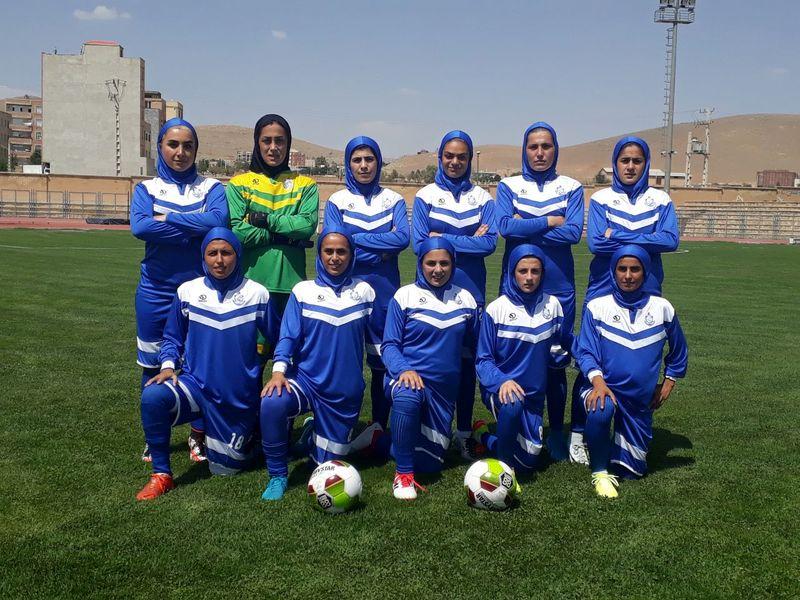 تیم بانوان ملوان بندر انزلی آذرخش تهران را با ۸ گل شکست داد.