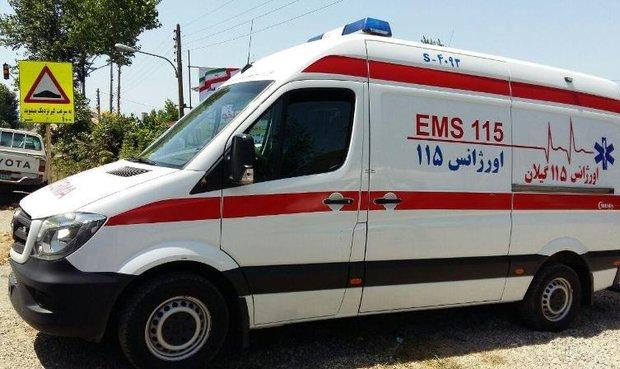 ضرب وشتم تکنسین اورژانس لوشان توسط همراهان بیمار
