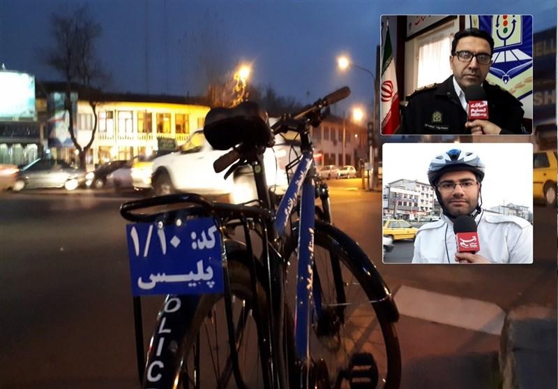 پلیس دوچرخهسوار در خیابانهای رشت چه میکند؟+فیلم