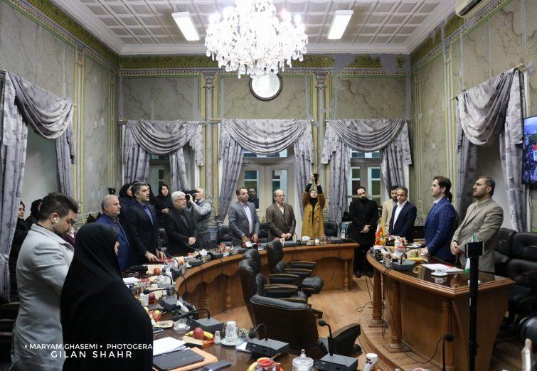گزارش تصویری از هفتادوسومین جلسه شواری اسلامی شهر رشت