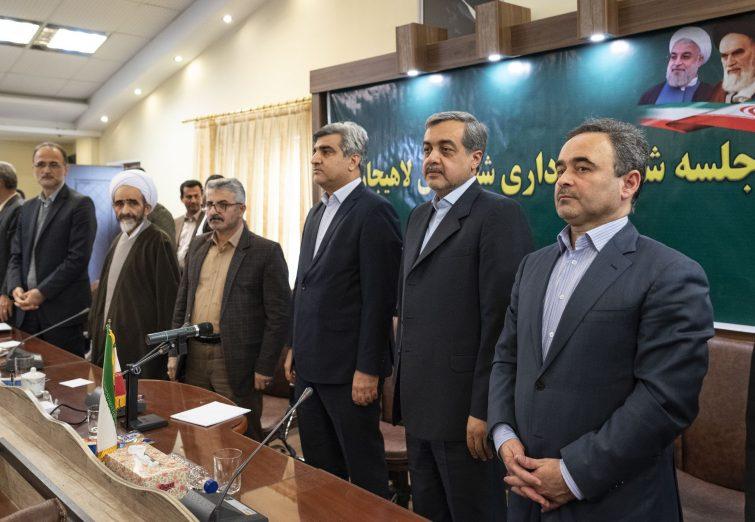 گزارش تصویری  استاندار گیلان در آیین تکریم و معارفه فرماندار شهرستان لاهیجان؛