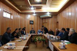 جلسه شورای اسلامی گیلان با حضور رئیس بنیاد مسکن