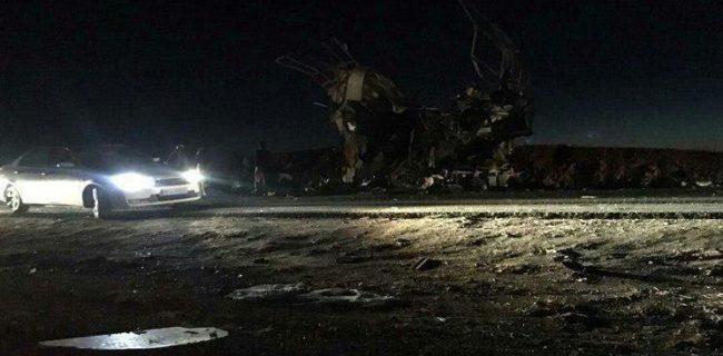 حمله تروریستی به اتوبوس نیروهای سپاه در سیستان و بلوچستان| ۲۷ شهید و ۱۳ زخمی