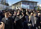 تشییع پیکر ۲ شهید گمنام با حضور معاون سیاسی، امنیتی و اجتماعی استاندار گیلان