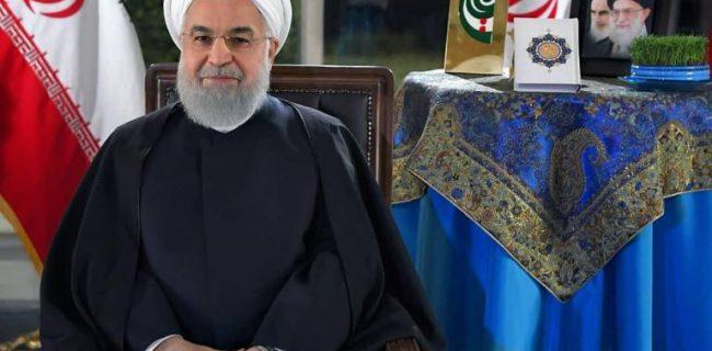 روحانی: سال جدید، سال مهار تورم، متعادل کردن قیمت ارز است