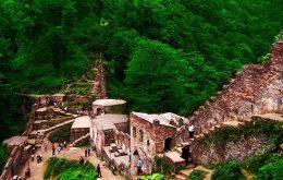 جاذبههای گردشگری گیلان| ۹فومن شهر مجسمهها/ قلعه رودخان برادر کوچک دیوار چین