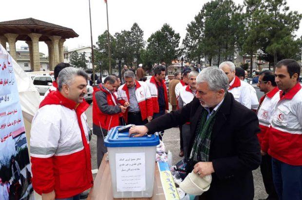کمک بیش از یک میلیارد و ۳۵۰ میلیون ریالی گیلانی ها به سیل زدگان