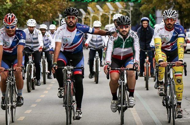 نخستین مرحله لیگ دوچرخهسواری سرعت گیلان در منطقه آزاد انزلی برگزار شد