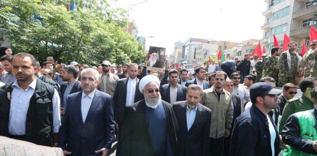 توطئه های استکبار علیه قدس شریف به نتیجه نخواهد رسید/ پیروزی نهایی از آن فلسطین است/ معامله قرن قطعا به ورشکستگی قرن تبدیل میشود