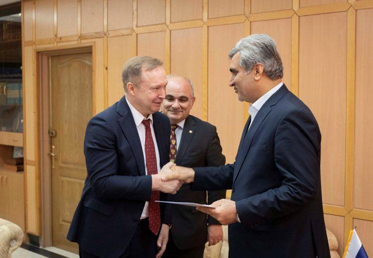 گزارش تصویری دیدار استاندار گیلان با سفیر روسیه