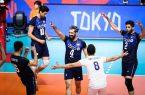 دیدار تیم  والیبال ایران و کانادا