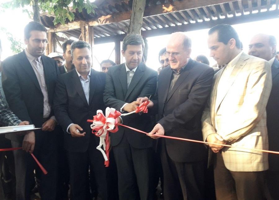 افتتاح سه پروژه عمرانی شهرداری چاف و چمخاله