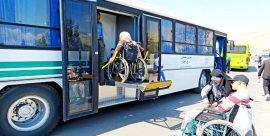 خریداری ۱۵ دستگاه اتوبوس با امکانات لازم برای معلولان