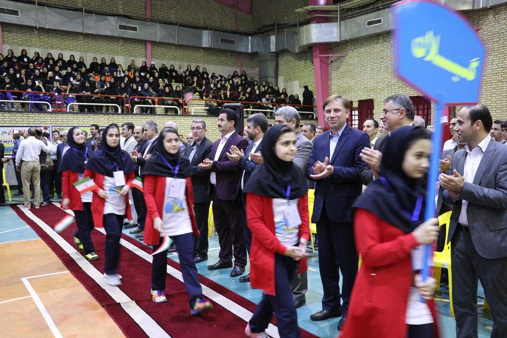 افتتاحیه سی امین دوره مسابقات ورزشی دختران دانشآموز سراسرکشور در گیلان