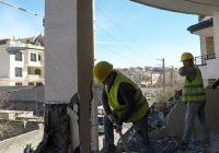 تخریب ۴ ویلا غیر مجاز در فومن
