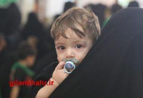 گزارش تصویری همایش بزرگ شیرخوارگان حسینی در رشت