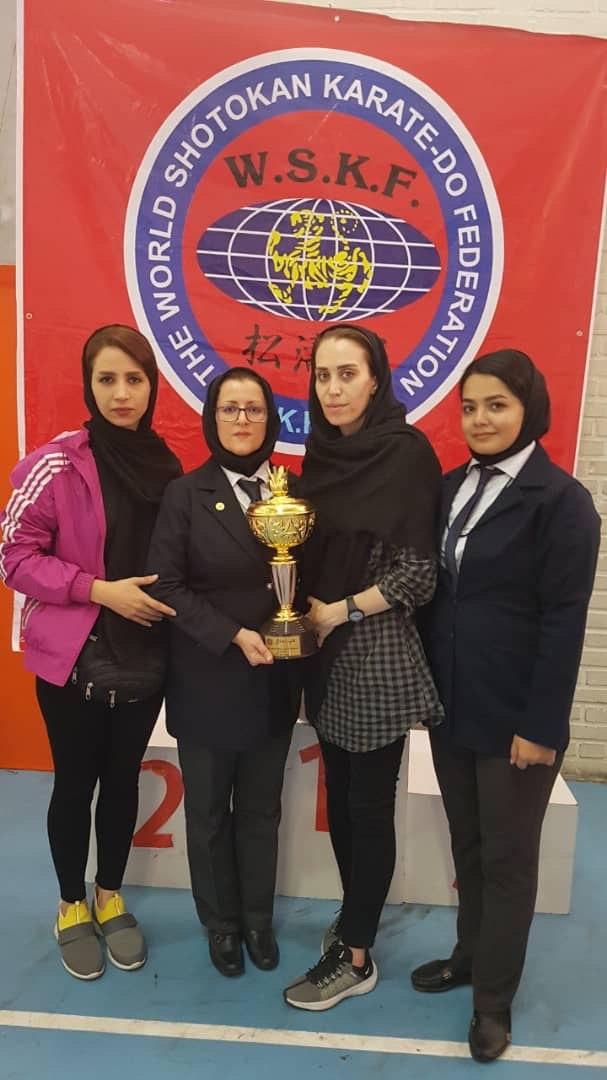 درخشش بانوان کاراته کای لاهیجان در مسابقات کشوری+عکس +اسامی