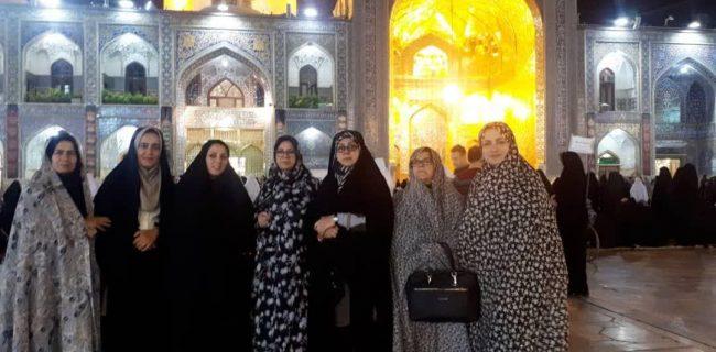 سفر ۴۰۰ خبرنگار در ماه عزاداری سالار شهیدان به بارگاه ثامن الحجج