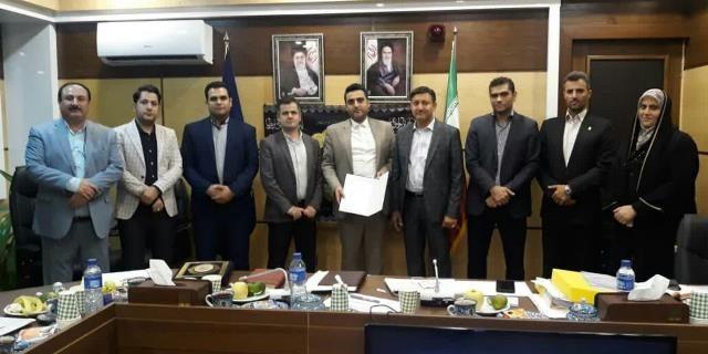 با حکم شهردار رشت سه مدیر جدید شهرداری منصوب شد+ عکس