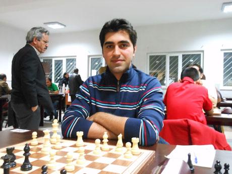 حضور نابغه گیلانی در تیم ملی شطرنج