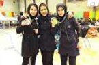 ۲ مدال بانوان گیلانی در رقابت های اسپورت کیک بوکسینگ کشور