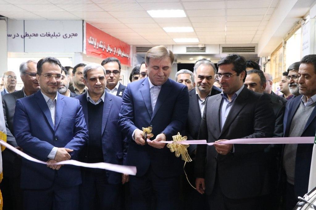 افتتاح نمایشگاه فرصتهای ساخت داخل و رونق تولید گیلان با حضور استاندار