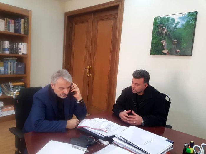 دیدار مدیرعامل سپیدرود رشت با معاون رئیس جمهور