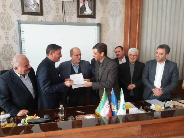 امضا موافقتنامه شهرداری رشت با قرارگاه سازندگی خاتم الانبیا در راستای اجرای پروژه های عمرانی+عکس