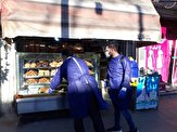ضدعفونی ۱۳۵ واحد نانوایی در رشت + عکس