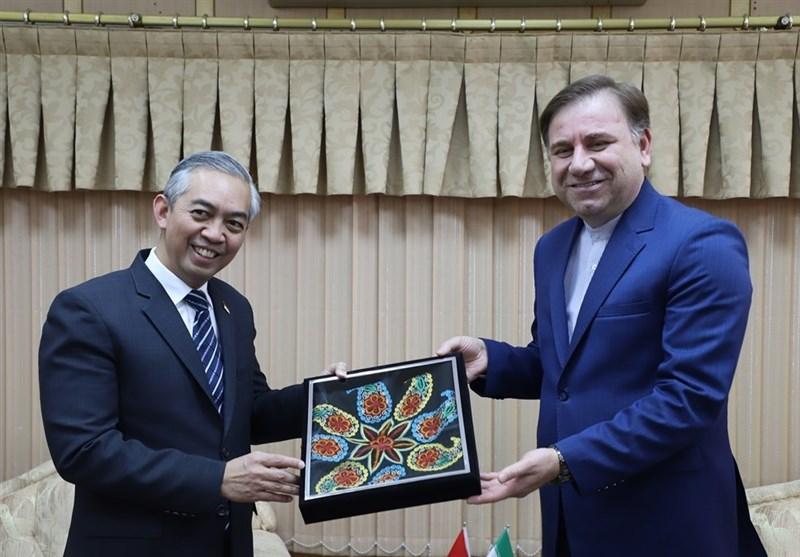 سفیر اندونزی در ایران: گسترش روابط هیئتهای تجاری ایران و اندونزی تحریمها را بیاثر میکند