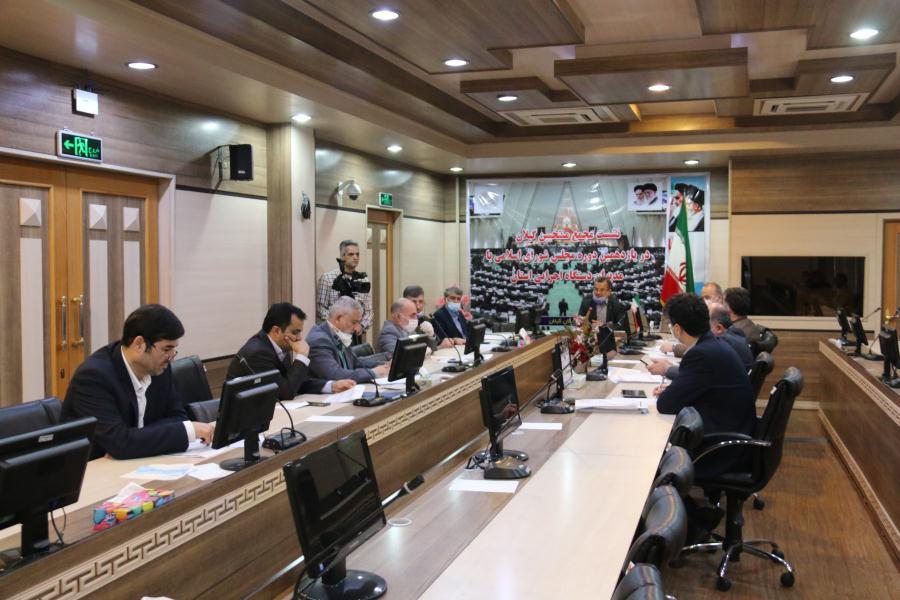 نشست منتخبان مردم با مدیران شرکت های آب و فاضلاب و توزیع برق گیلان