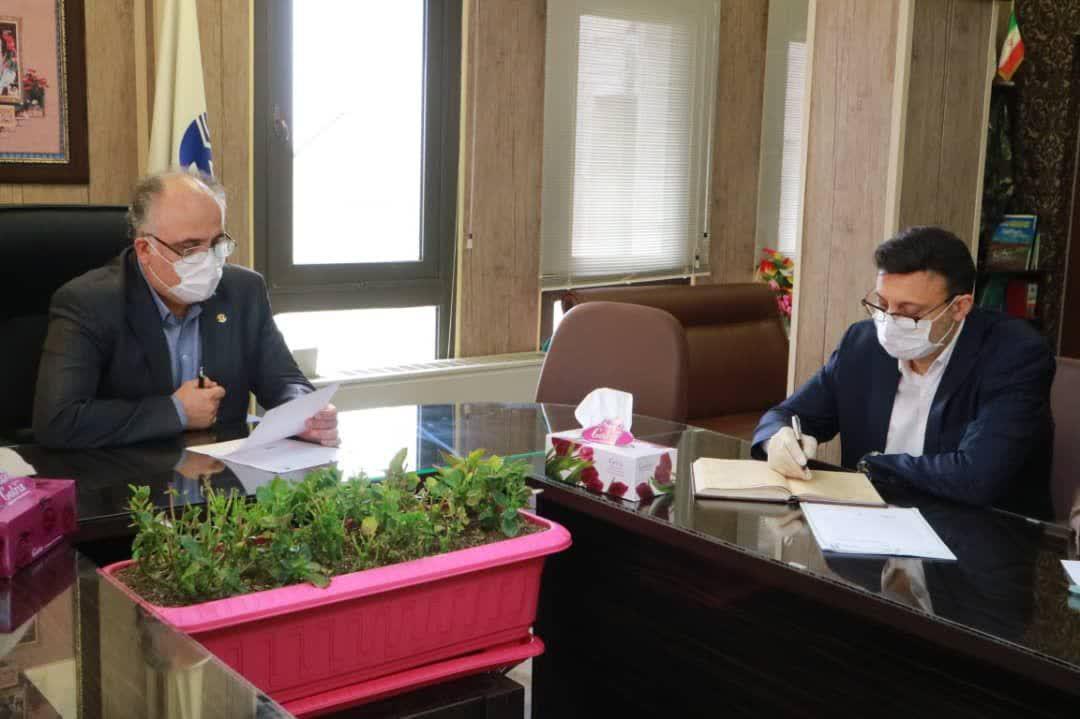 بررسی نحوه همکاری شهرداری رشت و مخابرات منطقه گیلان